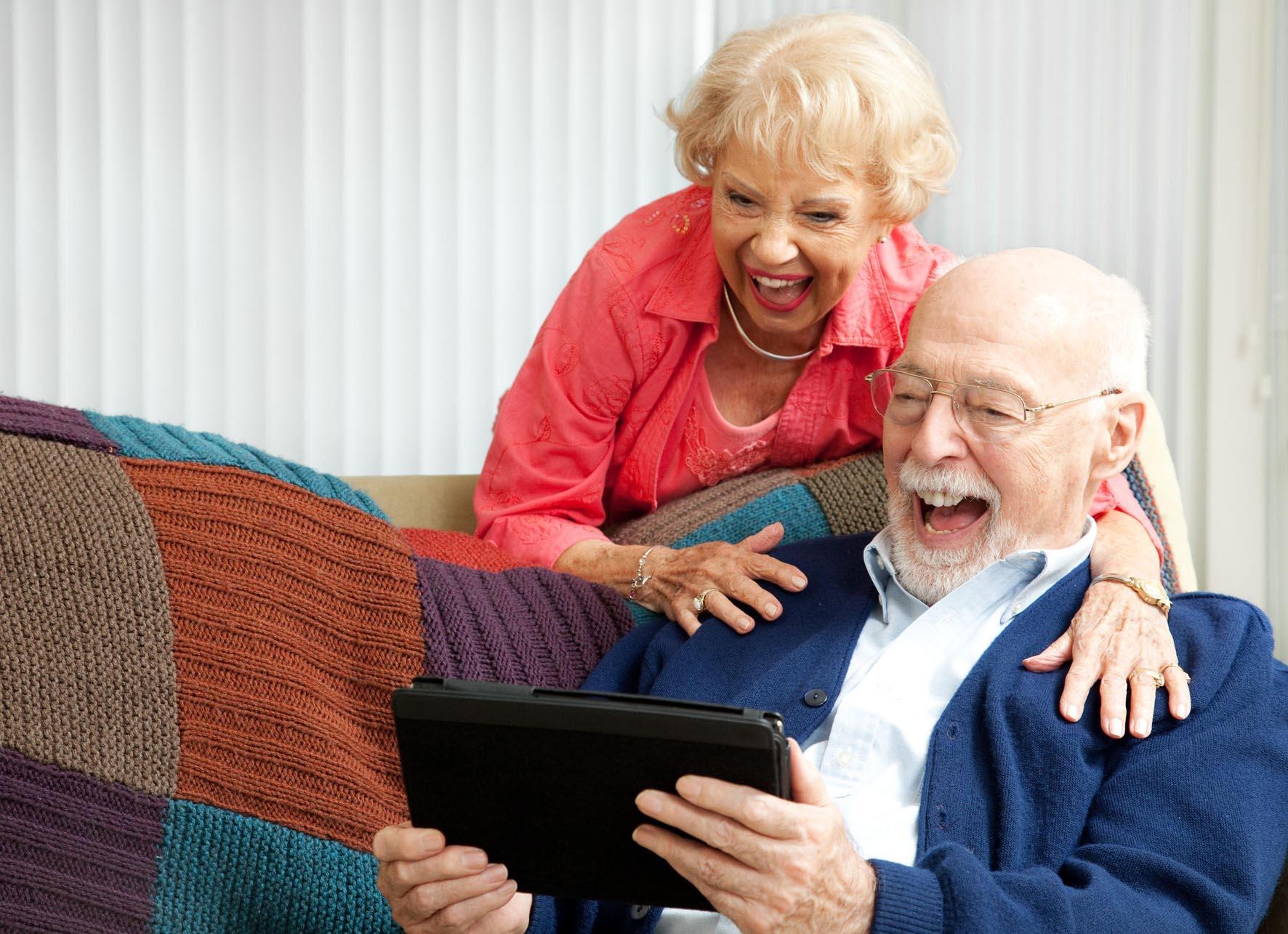 Technische Unterstützung im Alter zu Hause